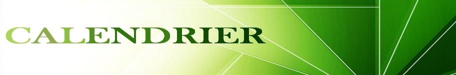 banniere verte(calendrier)